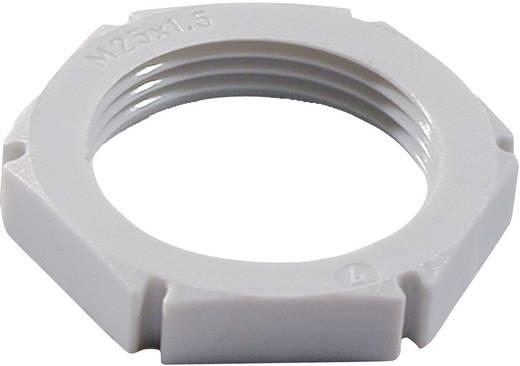Contramoer M12 Polyamide Zilver-grijs Wiska EMUG M12 RAL 7001 1 stuks