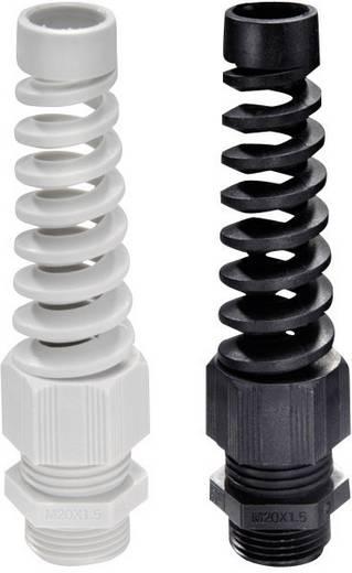 Wartel met trekontlasting, met knikbescherming PG7 Polyamide Lichtgrijs Wiska SKVS PG 7 RAL 7035 1 stuks