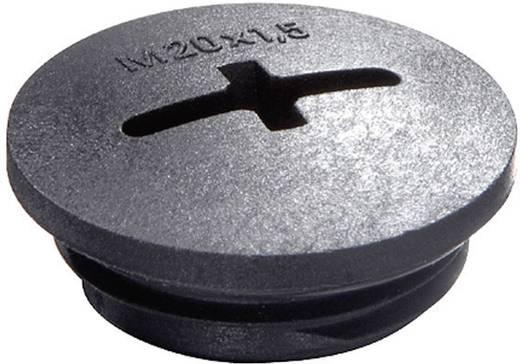 Blindstop M40 Polyamide Zwart (RAL 9005) Wiska EVSG M40 RAL 9005 1 stuks