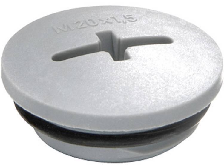 Blindstop M32 Polyamide Zilver-grijs (RAL 7001) Wiska EVSG-ORD M32 RAL 7001 1 stuks
