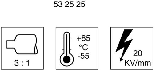 Krimpkous met lijm Zwart 12 mm Krimpverhouding: 3:1 DSG Canusa 6110120953