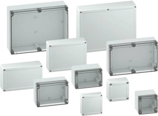 Installatiebehuizing 162 x 82 x 55 Polycarbonaat Lichtgrijs (RAL 7035) Spelsberg TG PC 1608-6-o 1 stuks