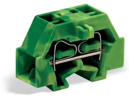 Aderklem 8 mm Veerklem Toewijzing: Terre Groen-geel WAGO 260-357 300 stuks