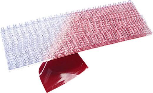 3M Klittenband om vast te plakken Paddenstoel (l x b) 1000 mm x 25 mm Doorschijnend Per meter