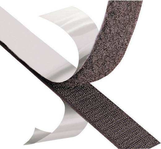 3M Klittenband om vast te plakken Haakdeel (l x b) 1000 mm x 50 mm Zwart Per meter