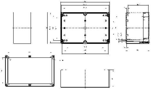 Installatiebehuizing 252 x 162 x 120 Polycarbonaat Lichtgrijs (RAL 7035) Spelsberg TG PC 2516-12-to 1 stuks