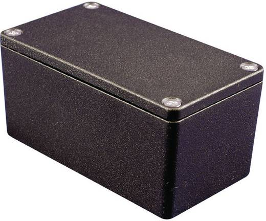 Hammond Electronics 1550Z124BK Universele behuizing 222 x 146 x 55 Aluminium Zwart 1 stuks