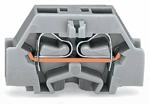 Aderklem 6 mm Veerklem Toewijzing: L Grijs WAGO 261-321 200 stuks