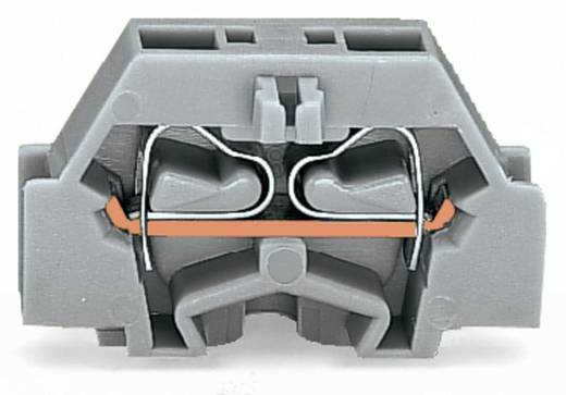 Aderklem 6 mm Veerklem Toewijzing: L Grijs WAGO 261-323 200 stuks