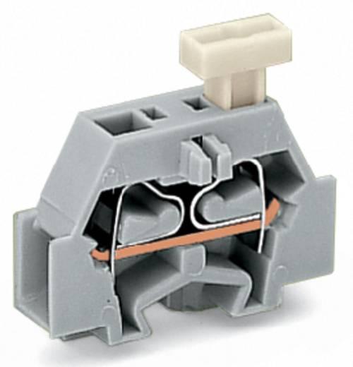 Aderklem 6 mm Veerklem Toewijzing: L Grijs WAGO 261-323/331-000 200 stuks