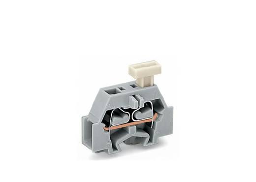 Aderklem 6 mm Veerklem Toewijzing: L Grijs WAGO 261-301/331-000 200 stuks