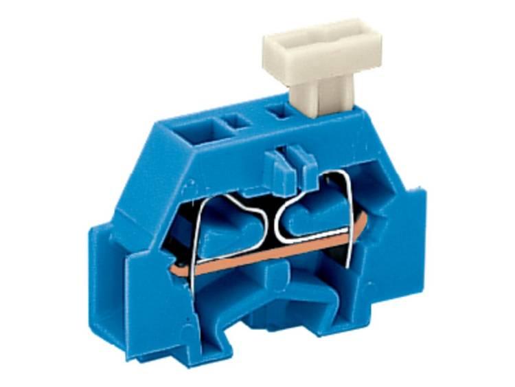 WAGO 261-304/331-000 Aderklem 6 mm Veerklem Toewijzing: N Blauw 200 stuks