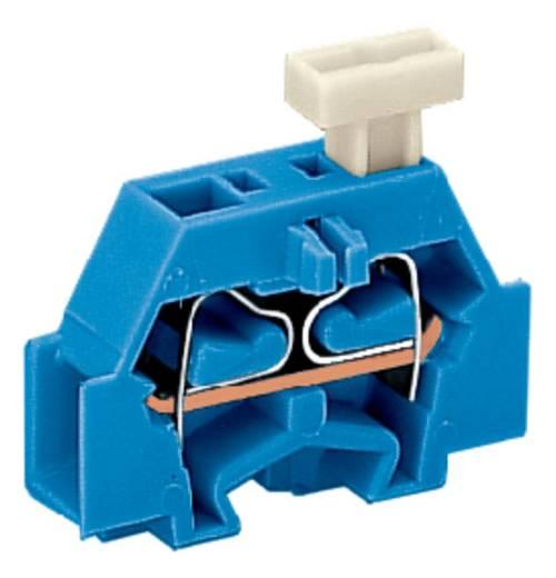 Aderklem 6 mm Veerklem Toewijzing: N Blauw WAGO 261-304/331-000 200 stuks
