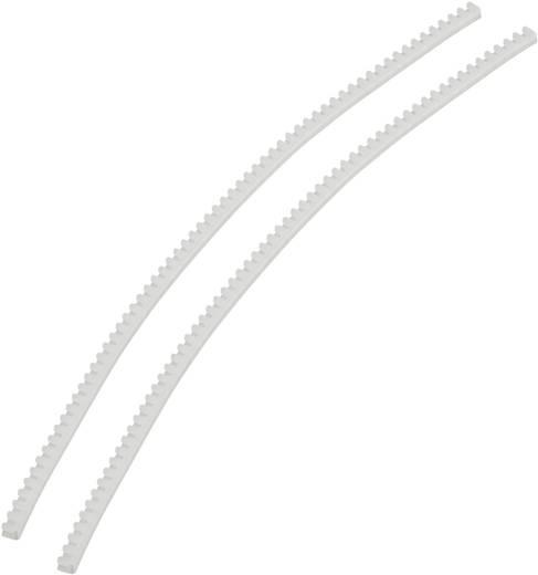 KSS KG008 Stootrand Transparant (l x b x h) 10 m x 3.3 mm x 3.7 mm 1 pack