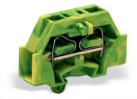 Aderklem 6 mm Veerklem Toewijzing: Terre Groen-geel WAGO 261-317 200 stuks
