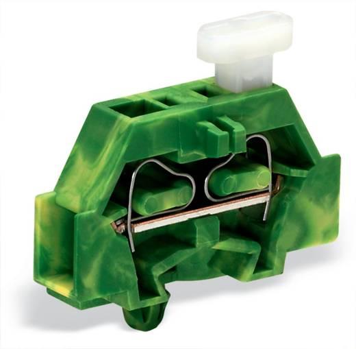 Aderklem 6 mm Veerklem Toewijzing: Terre Groen-geel WAGO 261-317/331-000 200 stuks