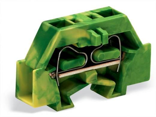 Aderklem 6 mm Veerklem Toewijzing: Terre Groen-geel WAGO 261-327 200 stuks