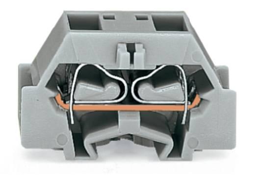 Aderklem 10 mm Veerklem Toewijzing: L Grijs WAGO 261-333 200 stuks