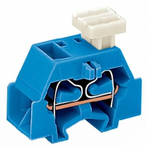 Aderklem 10 mm Veerklem Toewijzing: N Blauw WAGO 261-334/332-000 200 stuks