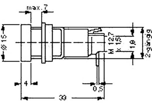SCI Zekeringhouder Geschikt voor Buiszekering 5 x 20 mm 10 A 250 V/AC 1 stuks