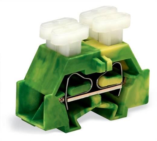 Aderklem 10 mm Veerklem Toewijzing: Terre Groen-geel WAGO 261-337/342-000 200 stuks