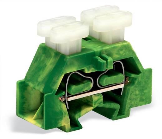 Aderklem 10 mm Veerklem Toewijzing: Terre Groen-geel WAGO 261-357/342-000 200 stuks