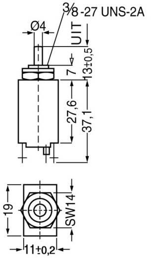 ETA CE106P30-40-0,5 Beveiligingsschakelaar Thermisch 240 V/AC 0.5 A 1 stuks
