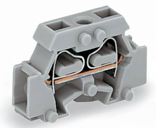 Aderklem 6 mm Veerklem Toewijzing: L Grijs WAGO 261-411 200 stuks