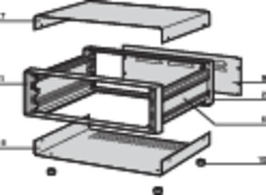 """Schroff 10225-602 19"""" modulesteunen 520 x 198 x 300 Plaatstaal 1 set"""