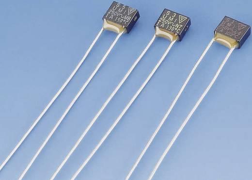 ESKA 700.127 N4 Temperatuurzekering 127 °C 1 A 250 V (l x b x h) 4 x 5.2 x 2.2 mm 1 stuks