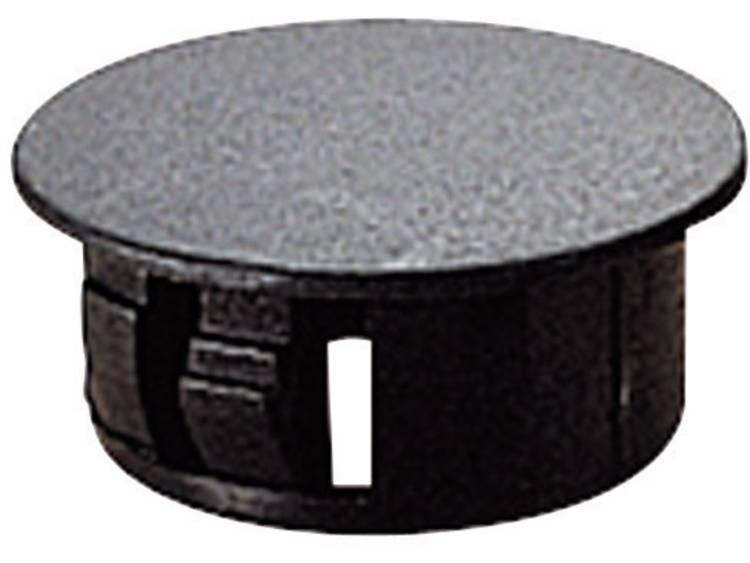 TRU COMPONENTS TC-HPR13203 Blindstop Polyamide Zwart 1 stuks