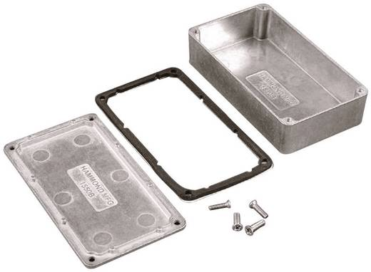 Hammond Electronics 1550WKBK Universele behuizing 140 x 102 x 76 Aluminium Zwart 1 stuks