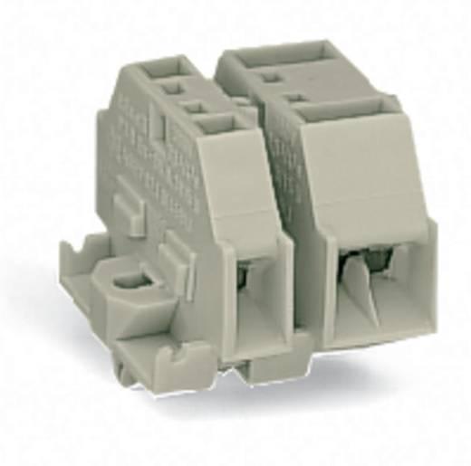 Aderklem 12 mm Veerklem Toewijzing: L Grijs WAGO 262-280 100 stuks