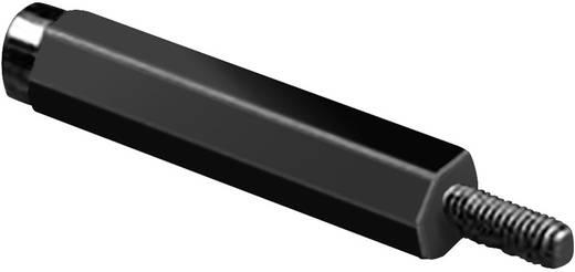 Afstandbouten Buiten en binnen schroefdraad M3 Polyamide Afstand 30 mm 1 stuks