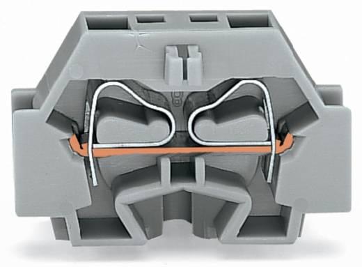 Aderklem 7 mm Veerklem Toewijzing: L Grijs WAGO 262-321 100 stuks