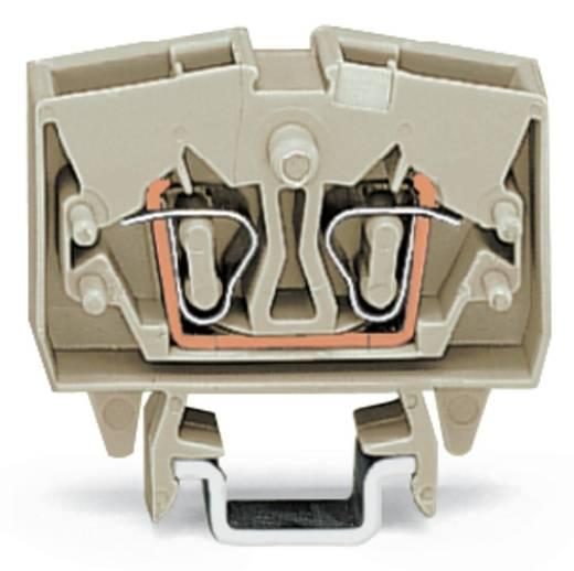 Doorgangsklem 6 mm Veerklem Toewijzing: L Grijs WAGO 264-120 100 stuks