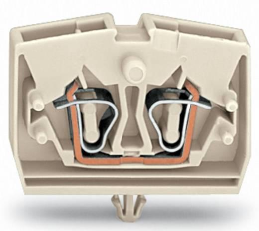 Aderklem 6 mm Veerklem Toewijzing: L Grijs WAGO 264-180 100 stuks