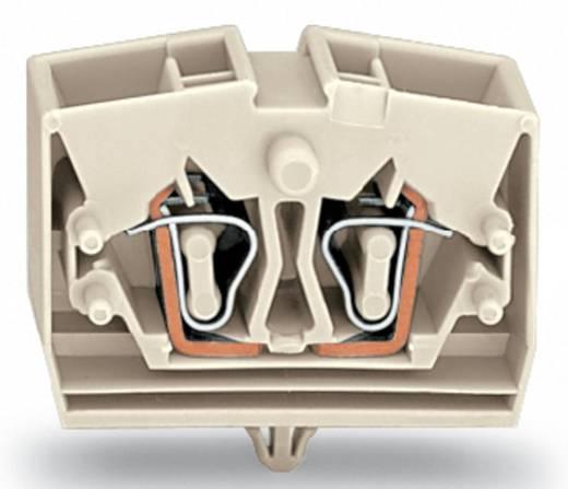 Aderklem 10 mm Veerklem Toewijzing: L Grijs WAGO 264-280 100 stuks