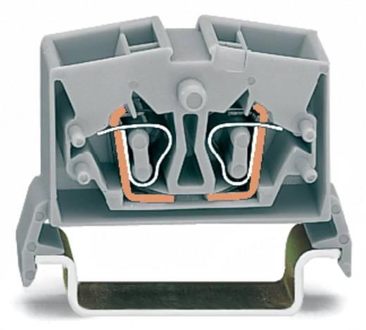 Doorgangsklem 10 mm Veerklem Oranje WAGO 264-736 100 stuks