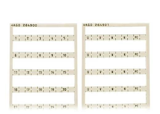 WAGO 264-900 Mini-WSB-snelopschriftsysteem 5 stuks