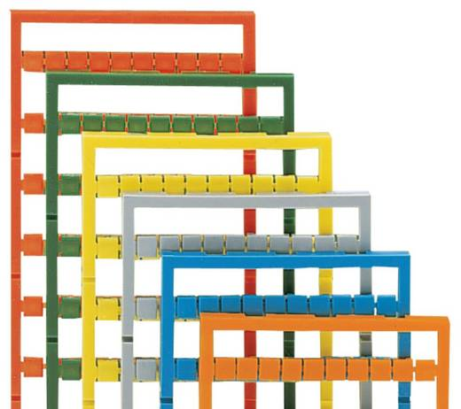WAGO 248-578/000-017 248-578/000-017 Mini-WSB-snelopschriftsysteem 5 stuks