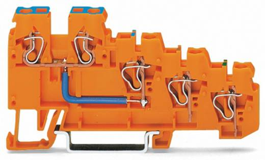 Initiatorklemmen 5 mm Veerklem Oranje WAGO 270-574 10 stuks