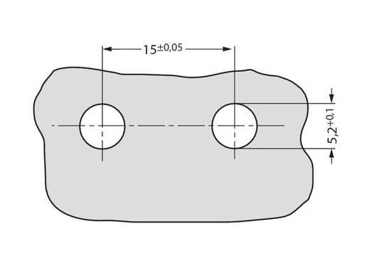 WAGO Verbindingsklem Flexibel: - Massief: 0.5-1 mm² Aantal polen: 3 500 stuks Wit