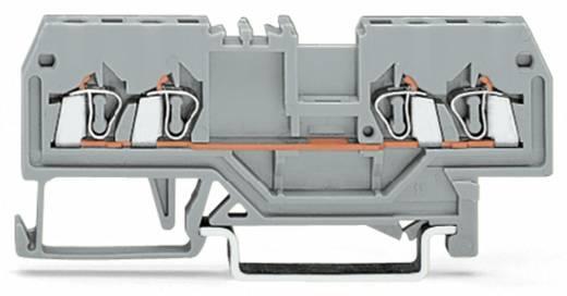 Doorgangsklem 4 mm Veerklem Zwart WAGO 279-835 100 stuks