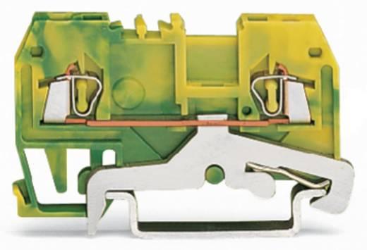 Aardingsklem 4 mm Veerklem Toewijzing: Terre Groen-geel WAGO 279-907/999-950 100 stuks