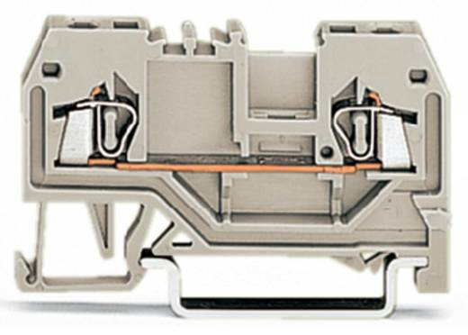 Doorgangsklem 4 mm Veerklem Toewijzing: L Grijs WAGO 279-992 100 stuks