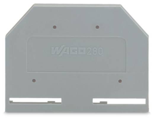 WAGO 280-301 Afsluit- en tussenplaat 100 stuks