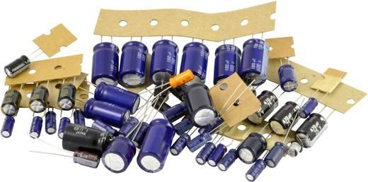 Elektrolytische condensator assortiment Kemo S005 50 onderdelen