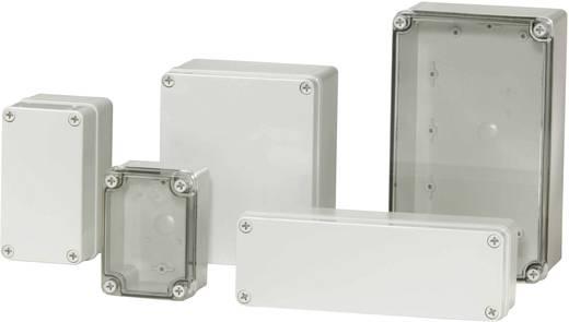 Installatiebehuizing 140 x 80 x 85 Polycarbonaat Lichtgrijs (RAL 7035) Fibox PICCOLO PC C 85 T 1 stuks
