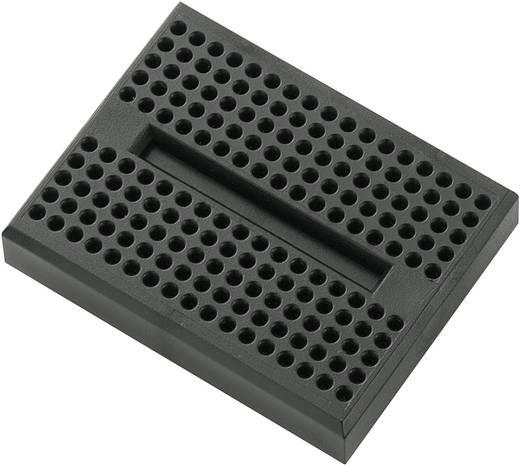 Breadboard Zwart Totaal aantal polen 170 (l x b x h) 45.72 x 35.56 x 9.40 mm 1 stuks